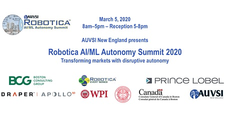 2020 Robotica AI/ML Autonomy Summit tickets