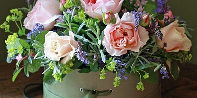 Flower Hat Box workshop – celebrating British Flower Week