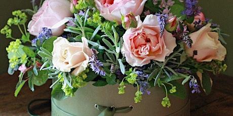 Flower Hat Box workshop - celebrating British Flower Week tickets
