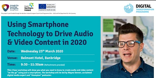 Using  Smartphone Technology to Drive Audio & Video Content In 2020