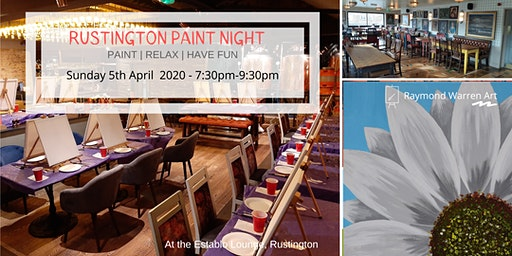Rustington Paint Night