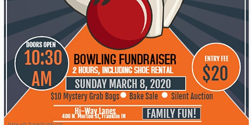 Braves Abroad Bowling Fundraiser