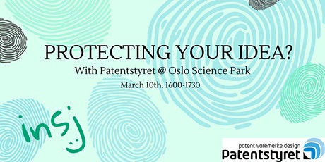 Patentstyret - Protecting Your Idea? tickets