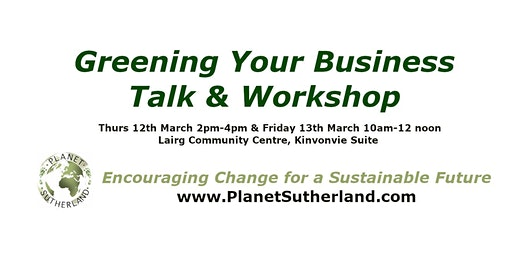 Greening Your Business Talk & Workshop