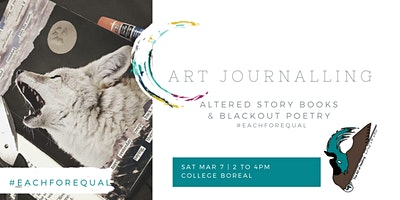 Art Journaling: Altered Story Books & Blackout Poetry