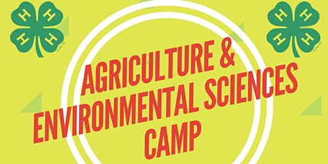 Orange County 4-H Agriculture & Environmental Sciences Camp tickets