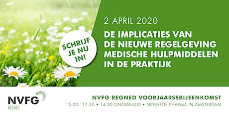 NVFG Voorjaarsbijeenkomst 'De implicaties van de nieuwe wetgeving medische hulpmiddelen in de praktijk' tickets