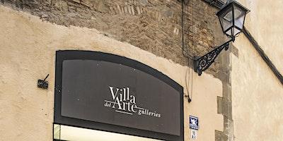 Visita galerias Mayoral exposición Juana Francés y merienda en café cosmo
