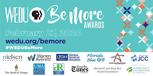 15th Annual WEDU Be More Awards