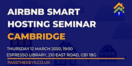 Airbnb Smart Hosting Seminar - Cambridge tickets