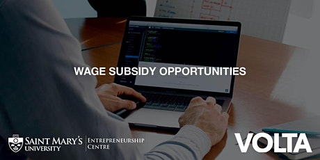 Wage Subsidy Opportunities tickets
