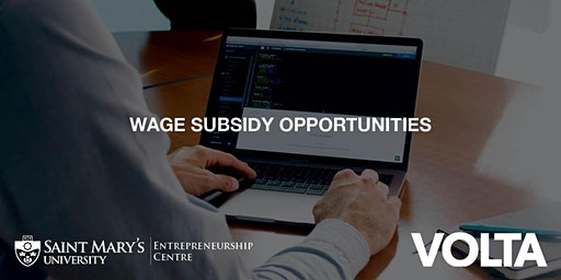 Wage Subsidy Opportunities