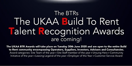 The UKAA BTR Awards 2020 tickets