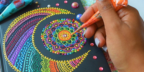 2021 Henna Pattern Diary Design tickets