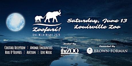 Zoofari! 2020 - One Wild Night tickets