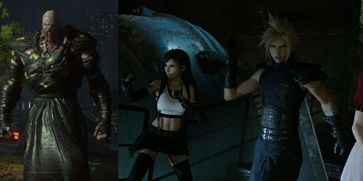 Play the remakes of both Resident Evil 3 and Final Fantasy 7