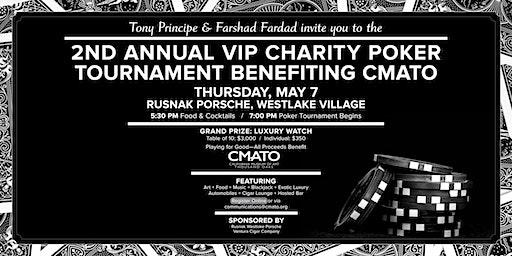 VIP Charity Poker Tournament hosted by Tony Principe & Farshad Fardad