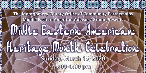 Sixth Annual Middle Eastern American Heritage Celebration