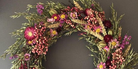 Make your own Autumn Wreath flower workshop tickets