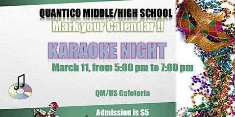 QMHS Karaoke Night- Mardi Gras 2020 tickets