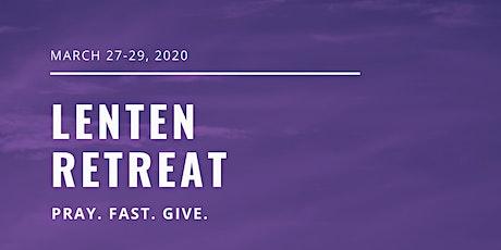 Lenten Retreat 2020 tickets