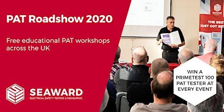 Seaward PAT Roadshow 2020 - Cardiff tickets