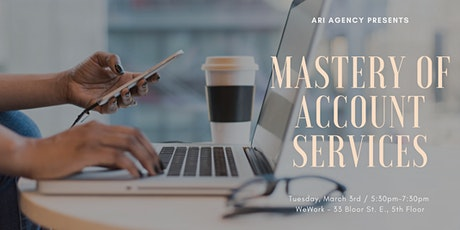Mastery of Account Services tickets