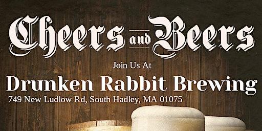 Cheers & Beers at Drunken Rabbit Brewing