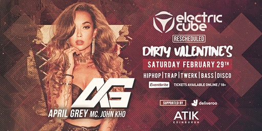 Electric Cube Presents: April Grey | Dirty Valentine's