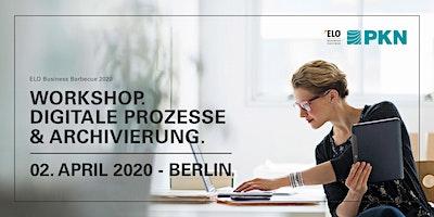 Workshop Digitale Prozesse & Archivierung