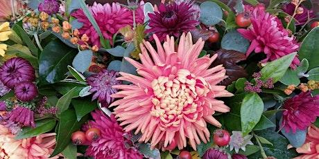Autumn Basket Flower workshop tickets