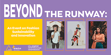 BEYOND THE RUNWAY: An Event on Fashion Sustainability and Innovation tickets