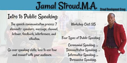 Intro to Public Speaking