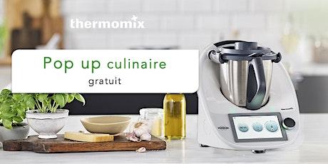 Pop-up! culinaire Thermomix® GRATUIT// Trois-Rivières billets