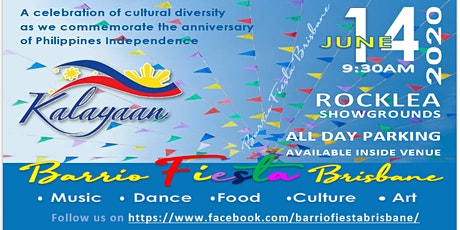 Filipino BARRIO FIESTA sa BRISBANE 2020 tickets