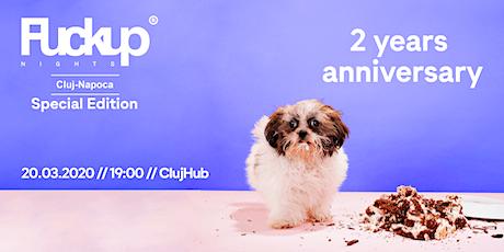 Fuckup Nights Cluj  - 2 years anniversary tickets