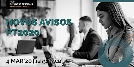 Novos avisos de candidatura para PME do Portugal 2020 bilhetes