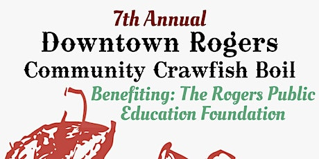 7th Annual DTR Community Crawfish Boil tickets