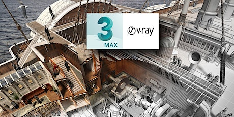 Autodesk 3ds Max & Vray Training1-2-1 Beginners Course tickets