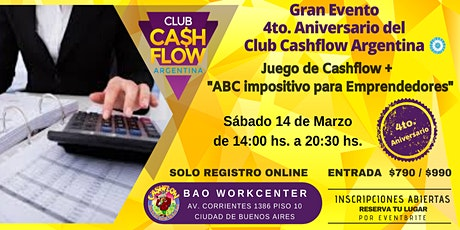 Cashflow y ABC Impositivo para Emprendedores entradas