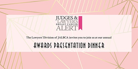 JALBCA 2020 Annual Awards Presentation Dinner tickets