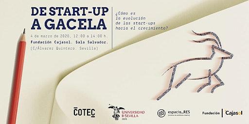 Presentación del Informe  'De start-up a gacela'
