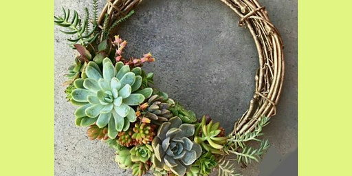 DIY // Living Succulent Wreath -or- Candle Ring