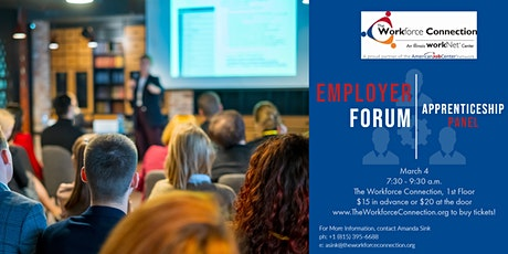 The Workforce Connection Board Presents: Apprenticeship Panel tickets