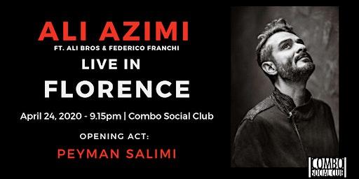 Ali Azimi live in Florence - (Opening act: Peyman Salimi)
