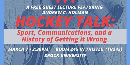Hockey Talk: Sport, Communications, and a History of Getting it Wrong