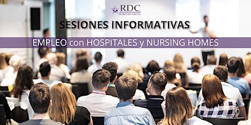 SESIONES INFORMATIVAS-EMPLEO-HOSPITALES y NURSING HOMES en USA - AGUADILLA