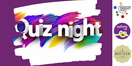 Let's get Quizzical - 2020 London Marathon Quiz Night & fundraiser tickets