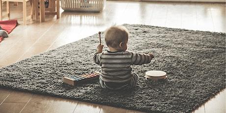 Laboratorio suoni e musica per mamme e bambini da 0-12 mesi  biglietti