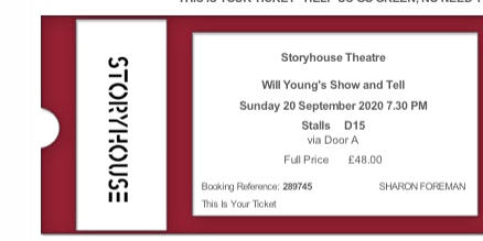 Will Young Show and Tell